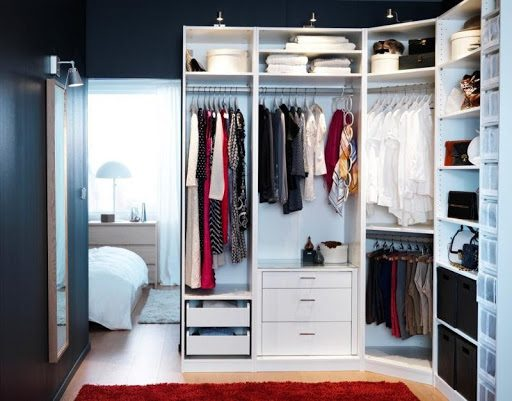 Great Tips For Making A Small Dressing Room