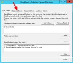 How to Fix QuickBooks Database Server Manager Error